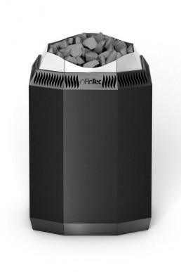 FinTec Elektro-Saunaofen KAISA schwarz pulverbeschichtet